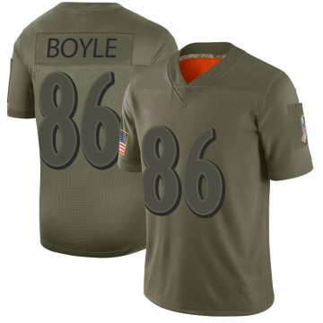 Men's Nick Boyle Baltimore Ravens Limited Camo 2019 Salute to Service Jersey