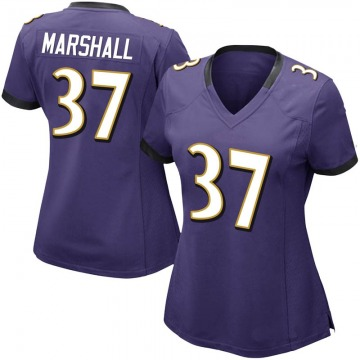 Women's Iman Marshall Baltimore Ravens Limited Purple Team Color Vapor Untouchable Jersey
