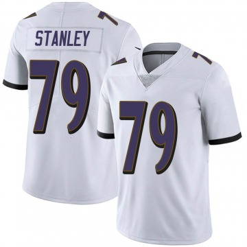 Youth Ronnie Stanley Baltimore Ravens Limited White Vapor Untouchable Jersey